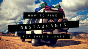 how to find restaurants for sale or lease