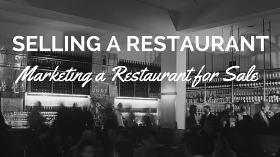 marketing your restaurant for sale
